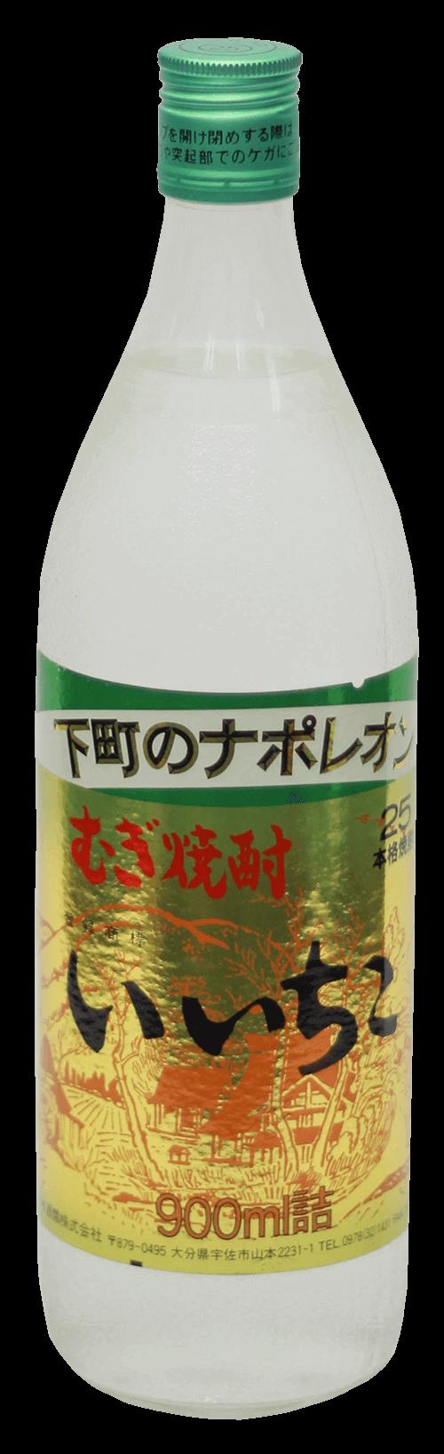 iichiko Mugi Shochu Bottle