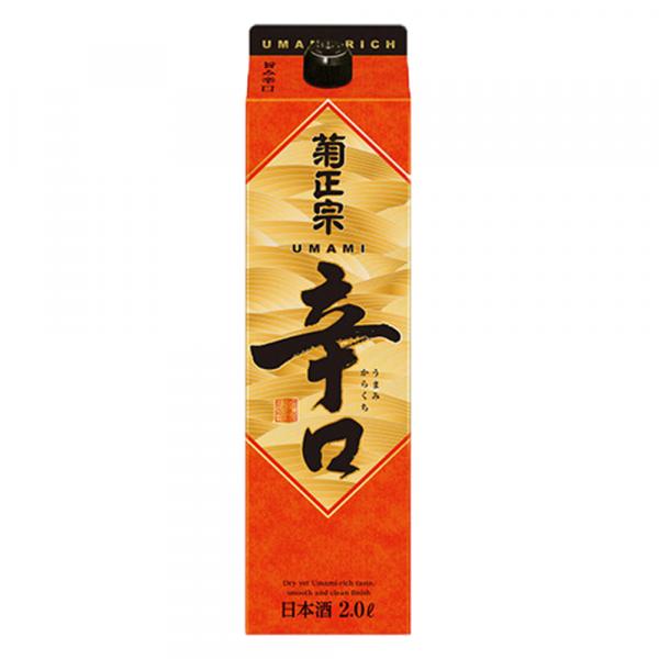 Kiku Masamune Honjyozo Karakuchi Sake Paper Pack