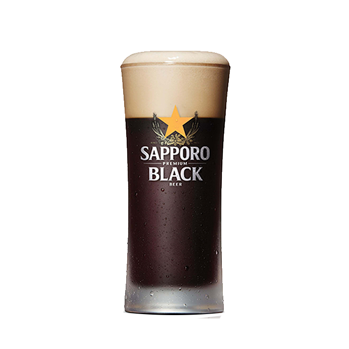 Sapporo Premium Draft Black Beer
